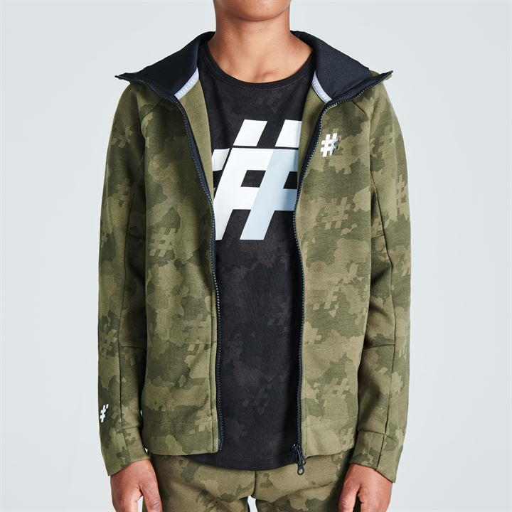 Five Street Zipped Hoodie Junior