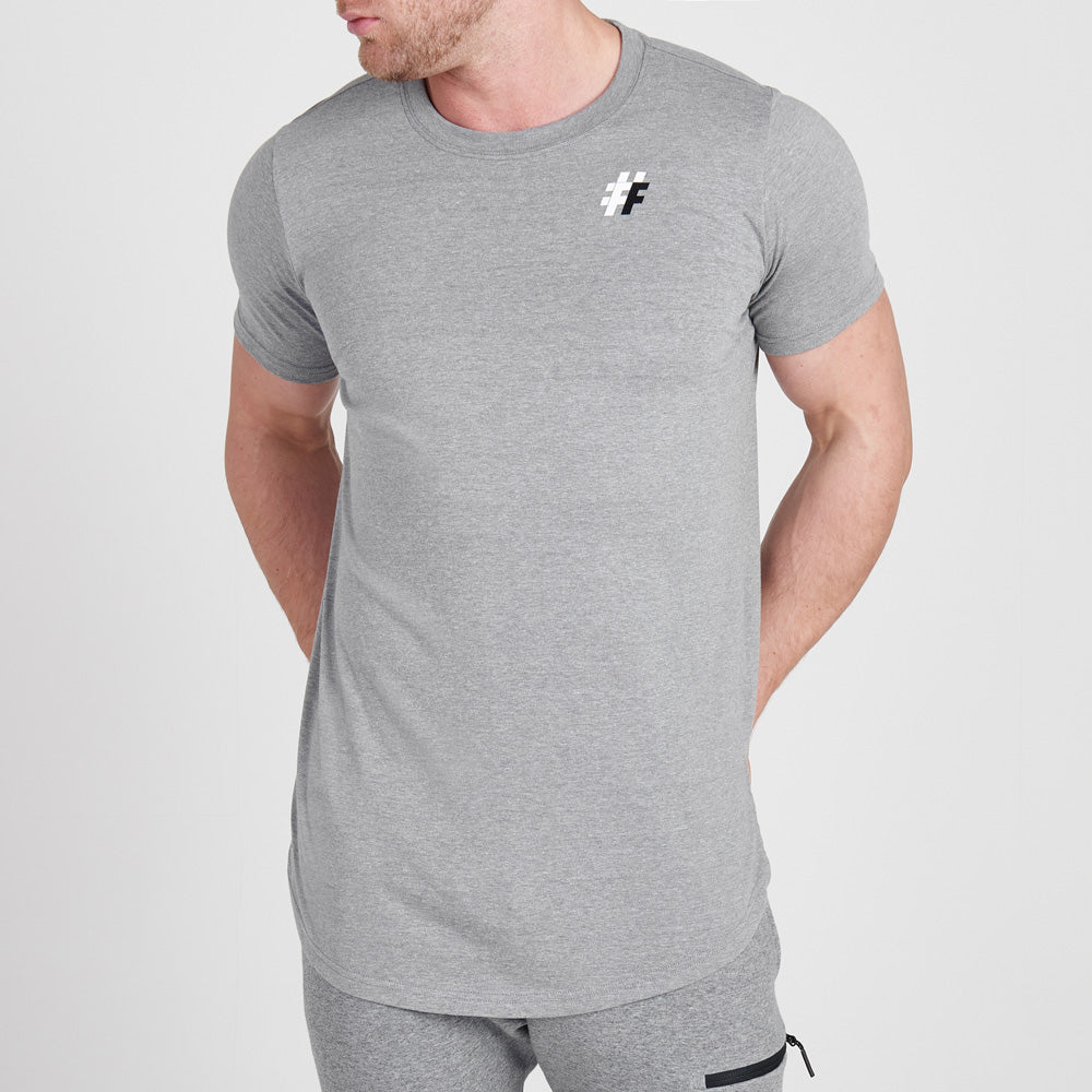 Five Long Line Tee Mens