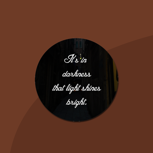 In Darkness Lyric Sticker