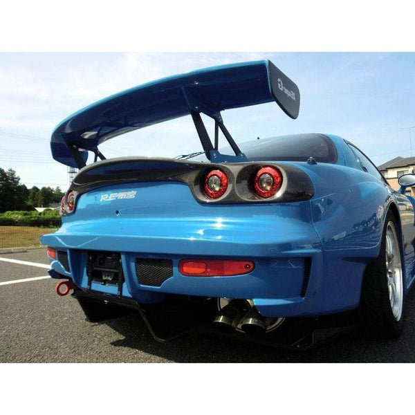 RE AMEMIYA SUPER REAR BUMPER FOR MAZDA RX7-Re Amemiya-Drift Society