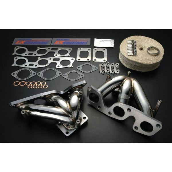 Tomei Expreme Exhaust Manifold Pair RB26 Skyline R34-Tomei-Drift Society