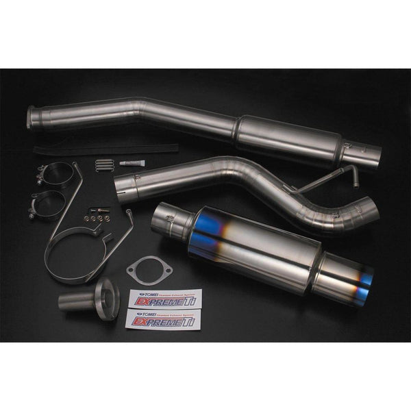 Tomei Expreme Ti Cat Back Exhaust System Skyline R32-Tomei-Drift Society