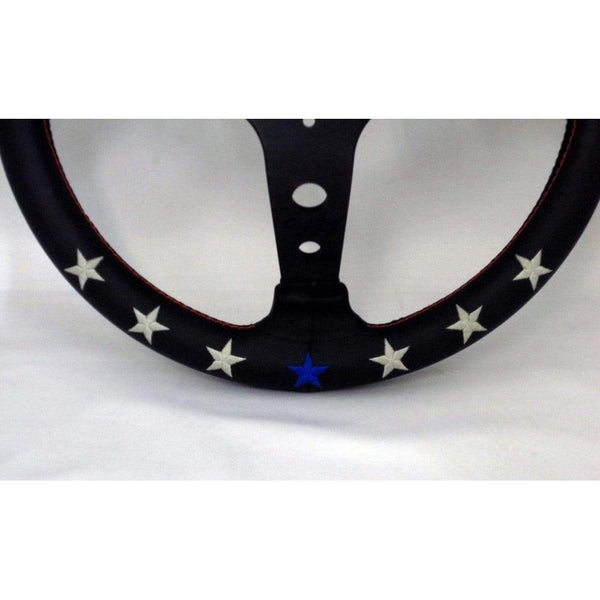 VERTEX 7 STAR STEERING WHEEL-Vertex-Drift Society