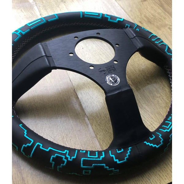 VERTEX X BOWZ COLLABORATION STEERING WHEEL-Vertex-Drift Society