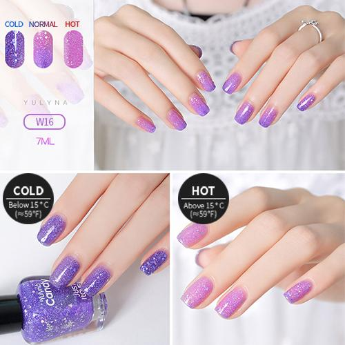 Alexia™ Temperature Reactive Color Changing Nail Polish
