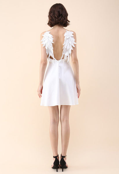 Angel Wing Lace Dress