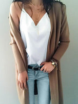 Gemma Open Collar Cardigan