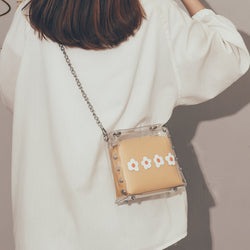 Elly Cute Transparent Crossbody Bag