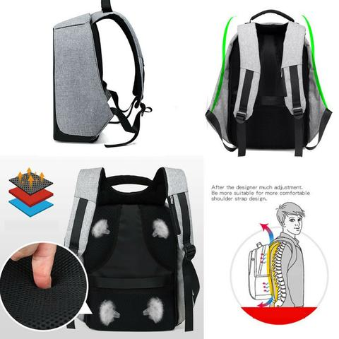 Alexia™ Anti-Theft Travel Backpack - 50% OFF NOW!