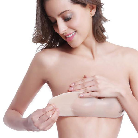 Invisible One Piece Silicone Push Up Bra