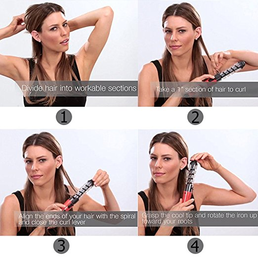 Anti-Scald Ceramic Hair Curler