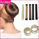 Magic DIY Hair Donut Bun Maker (2-piece bundle pack)