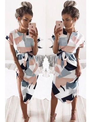 Hailey Geometric Dress