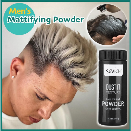 Men's Mattifying Hair Powder