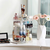 360° Rotating Crystal Make Up Organiser