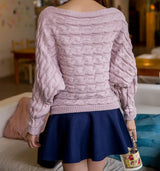 Rose Knit Sweater