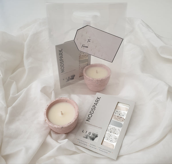 Candles of Light x Nodspark Dawn Terrazzo Bundle