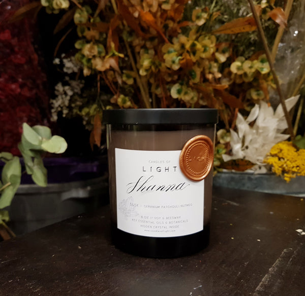 Dusk 8oz Gemstone Candle