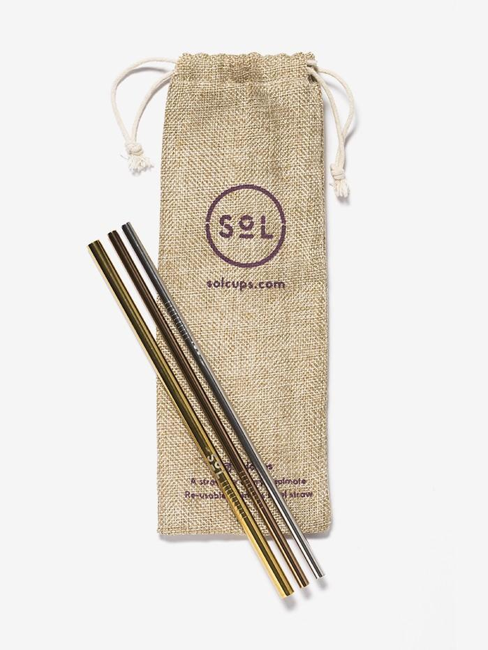 SoL Cups straw set SoL Cups Reusable Straw Set