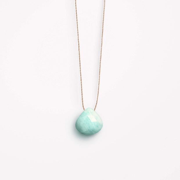 wanderlust life jewellery necklace Amazonite Fine Cord Necklace