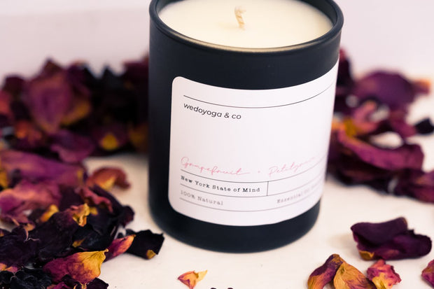 WEDOYOGA candles New York State Of Mind Candle