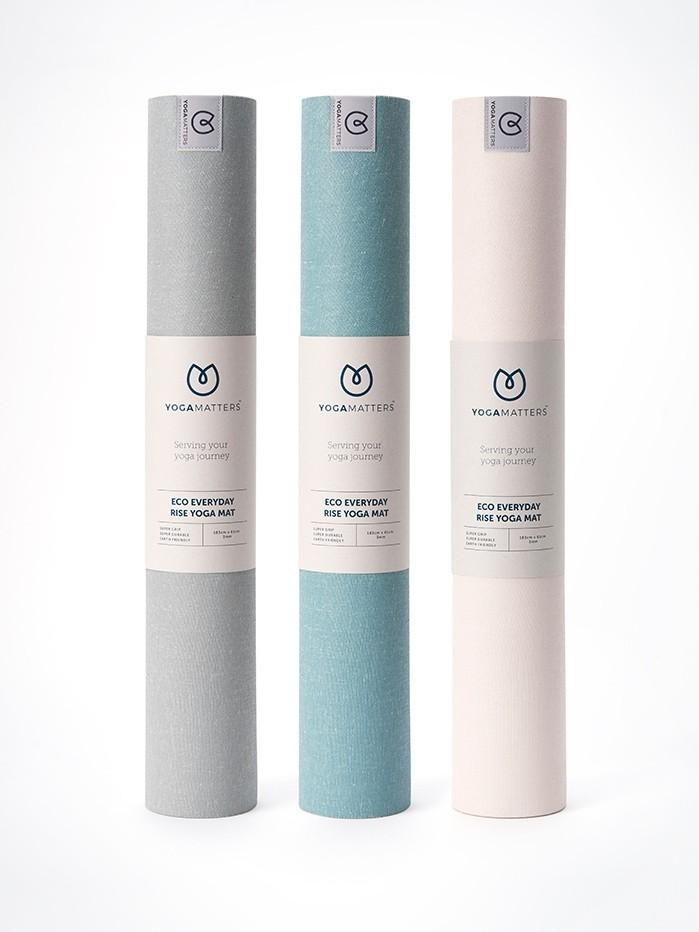 YogaMatters yoga mats Yogamatters Eco Everyday Rise Yoga Mat