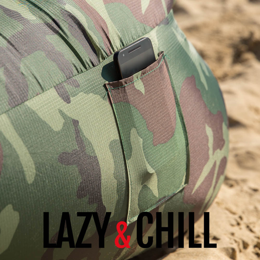Lazy and Chill Camo Lounger