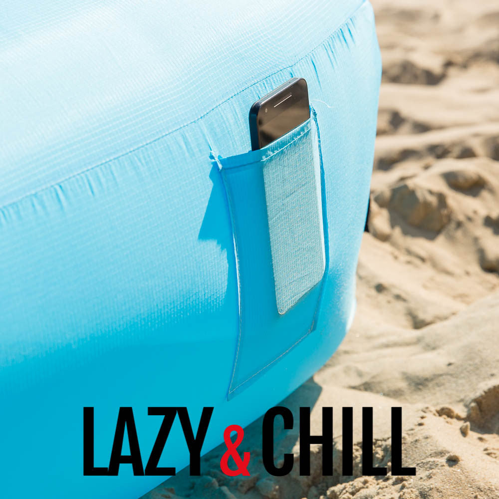 Lazy and Chill Sky Blue Lounger