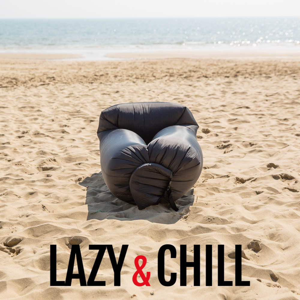 Lazy and Chill Black Lounger