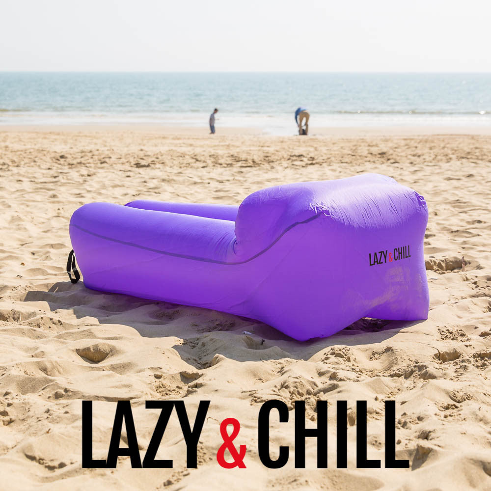 Lazy and Chill Purple Lounger