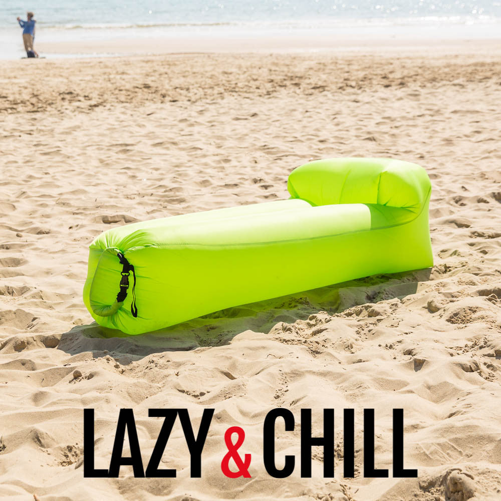 Lazy and Chill Green Lounger