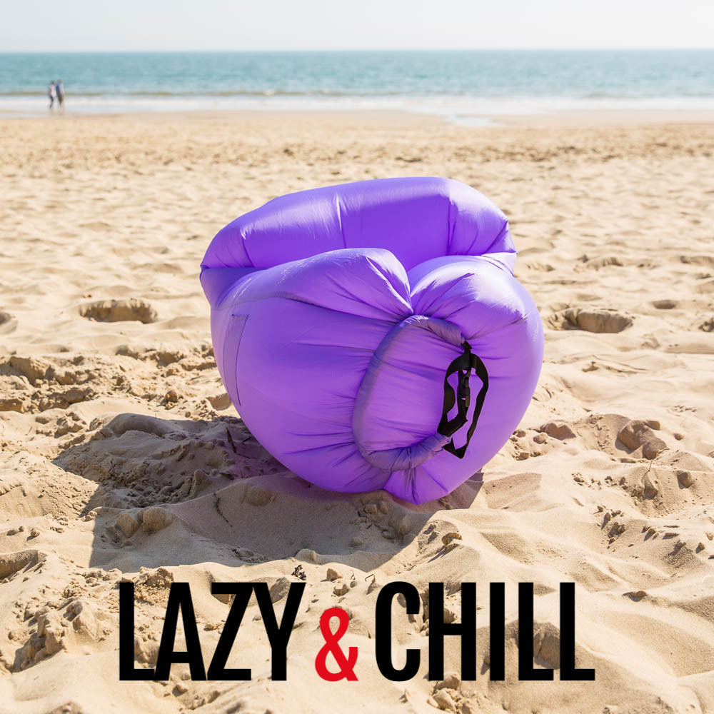 Lazy and Chill Purple Pod