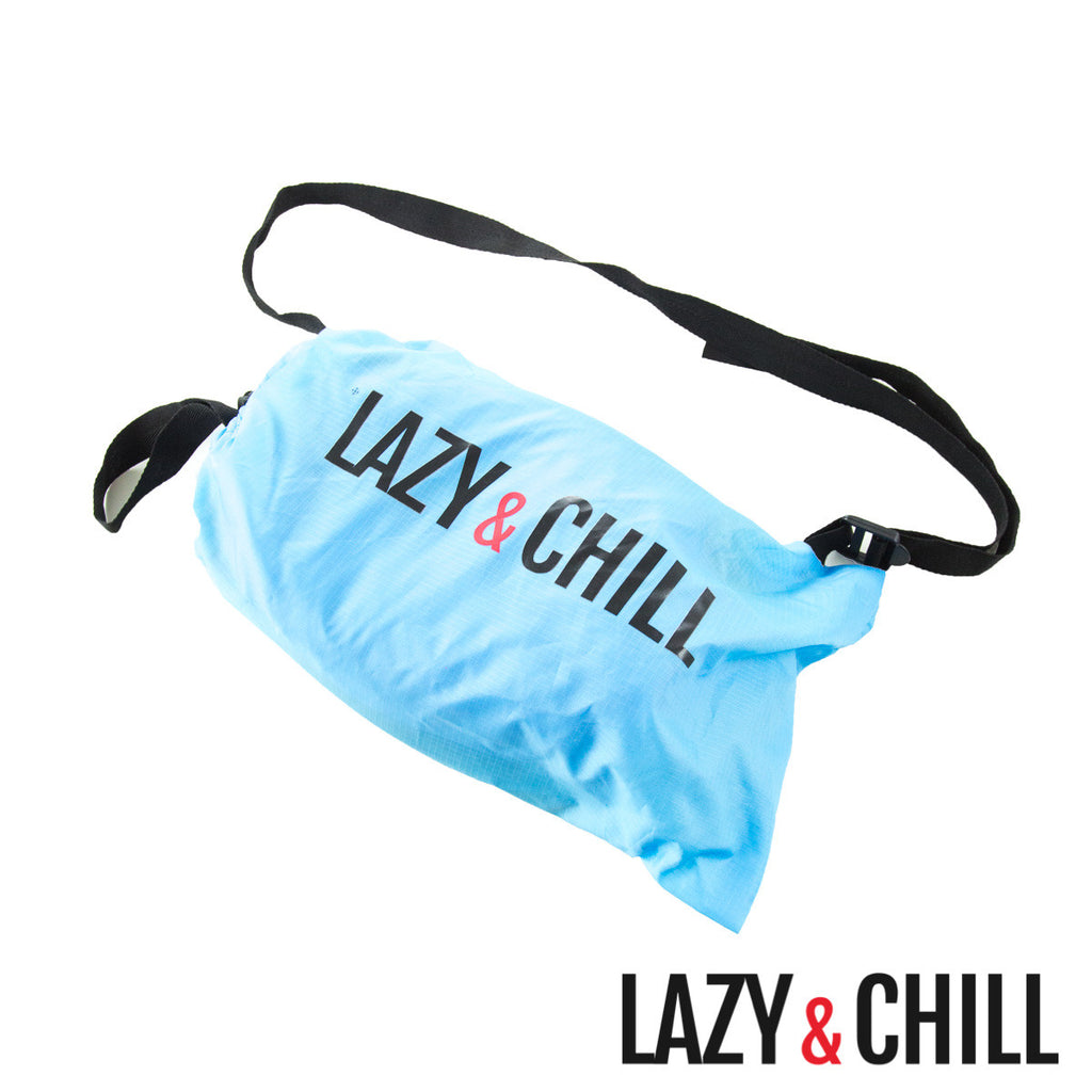 Lazy and Chill Sky Blue Pod - Lazy & Chill lounger and pod