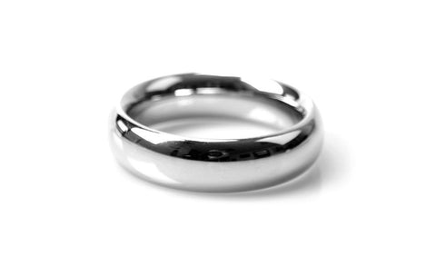 60mm Stainless Steel Donut Penis Ring