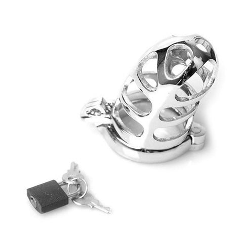 Male Chastity Cock Ring and Cage