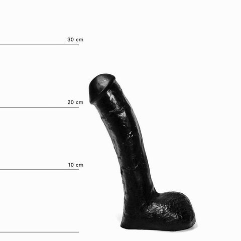 All Black AB14 9 inch Dildo