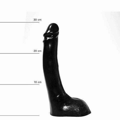 All Black AB15 11 inch Dildo