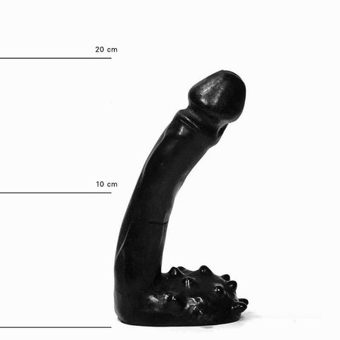 All Black AB26 Spiny Dildo
