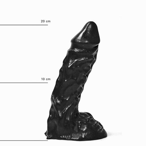 All Black AB27 9 Inch Dildo