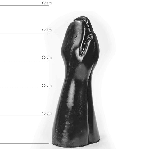 All Black AB59 15 inch Fisting Dildo