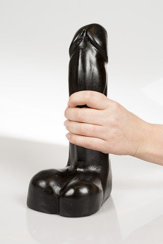 Dark Crystal 08 10 inch Black Dildo