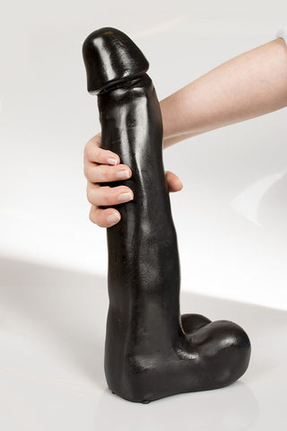 Dark Crystal DC30 Knuth 15 Inch Black Dildo