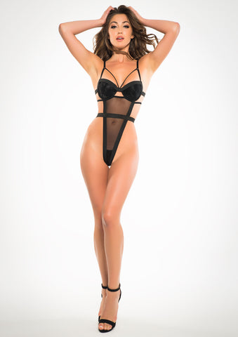Adore Teddy Body Lingerie with Ribbon Back