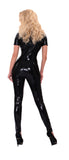 GP Datex Black Catsuit with Zipper