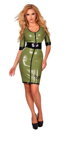 GP Datex Green Army Dress