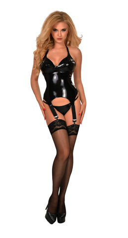 GP Datex Bustier With Garter Straps