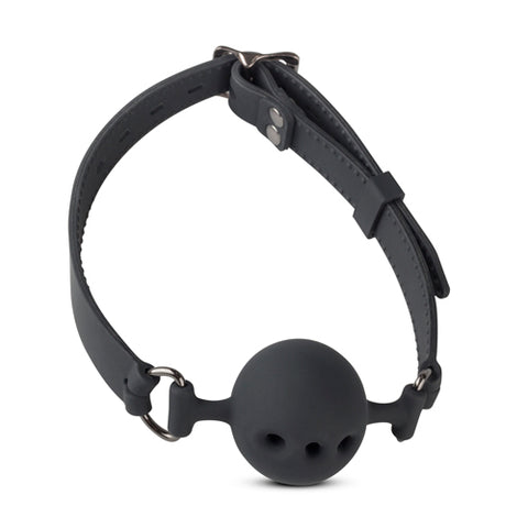 Large Silicone Breathing Hole Ball Gag - The Pantie Purse