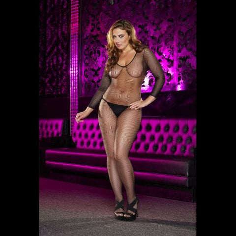 Lapdance Crotchless Fishnet Bodystocking - The Pantie Purse