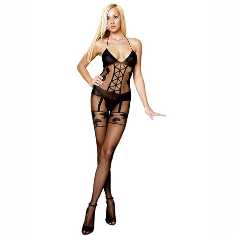 Leg Avenue Sexy Sheer Bodystocking - The Pantie Purse
