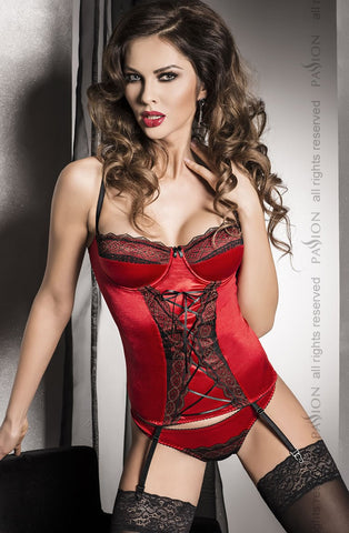 Passion Evane Corset Set Size 16 - The Pantie Purse
